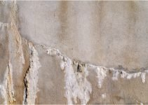 Water Stains or Efflorescence on Concrete Walls